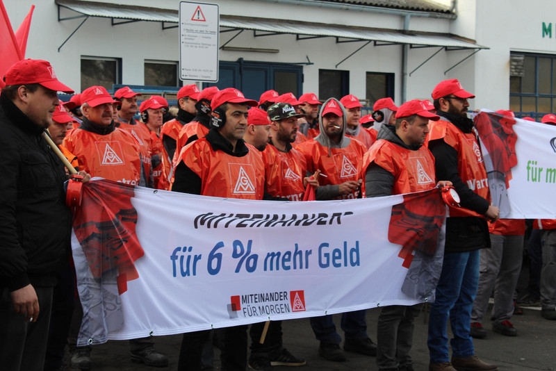 streiken ig metall 2018
